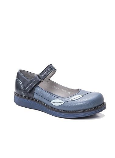 Hakiki Deri Desenli Ayakkabı-Beta
